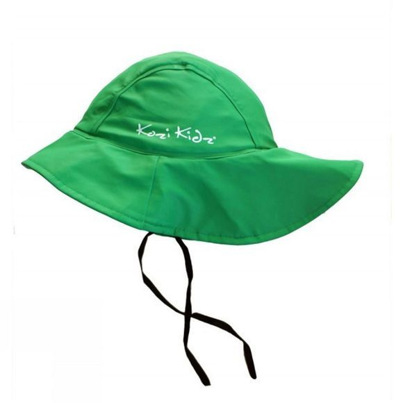 Kozi Kidz Souwester Fleece Lined Hat Green