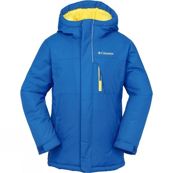 Columbia Boys Alpine Free Fall Jacket Age 14+ Hyper Blue/Bright Yellow