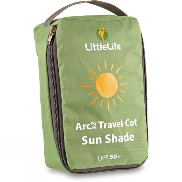 LittleLife Arc 2 Travel Cot Sun Shade Silver