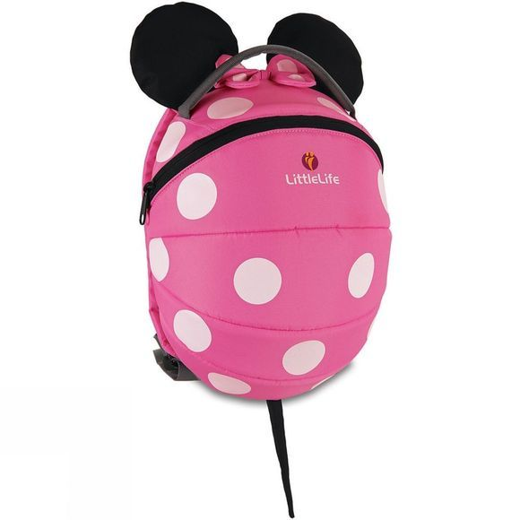 LittleLife Kids Character Daysack Pink Minnie