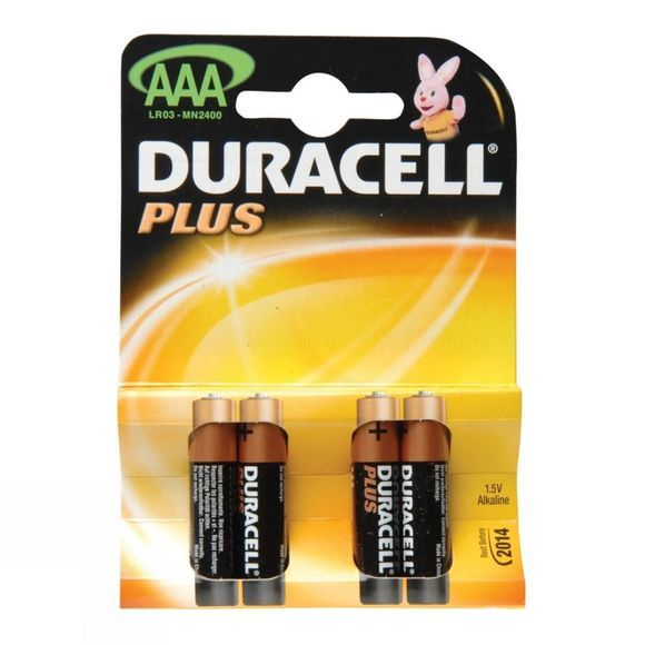 Plus AAA 1.5V Battery (Pack of 4)