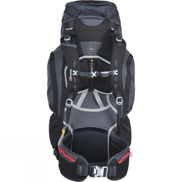 Berghaus Mens Trailhead 65 Rucksack Black/Carbon