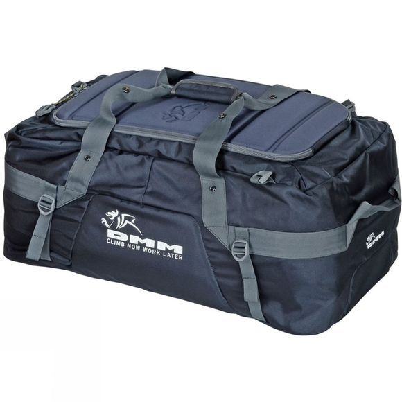 DMM Void Duffel Bag 100L Black/Grey