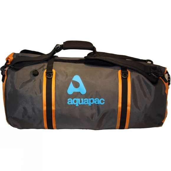 Aquapac Upano Duffel 70L Grey/Black/Orange