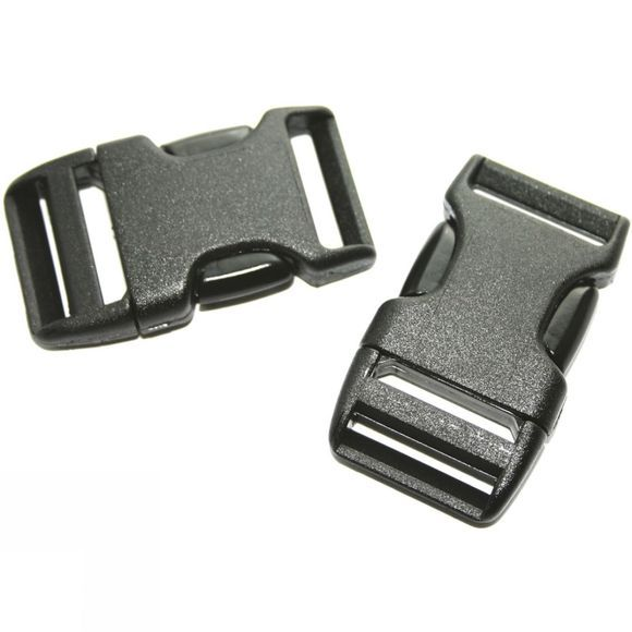 Lowe Alpine 20mm Side Squeeze Buckles (x50 in Jar) Black