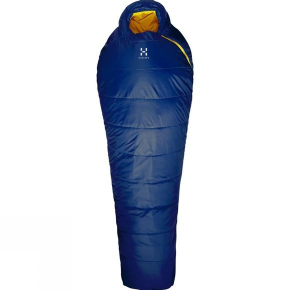 Haglofs Tarius +6 Long Sleeping Bag Hurricane Blue
