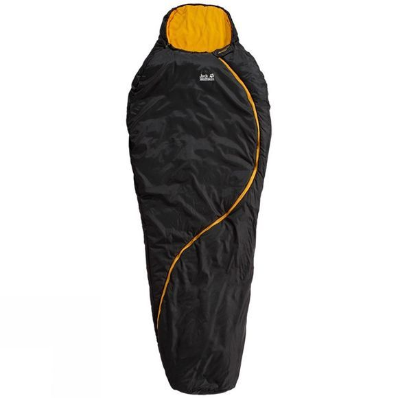 Jack Wolfskin Smoozip -5 Sleeping Bag Black