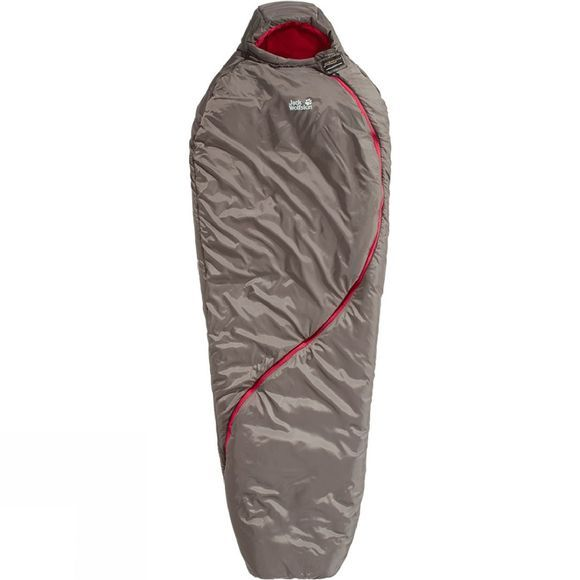 Jack Wolfskin Womens Smoozip -7 Sleeping Bag Siltstone