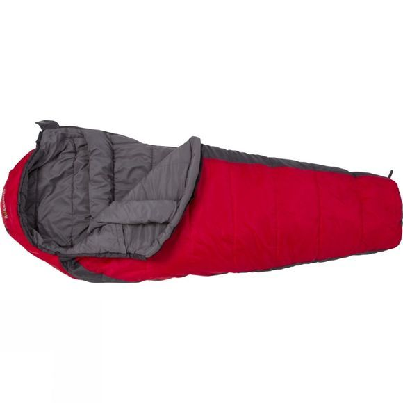 Ayacucho Sirius 250 Junior Sleeping Bag Charcoal/Red