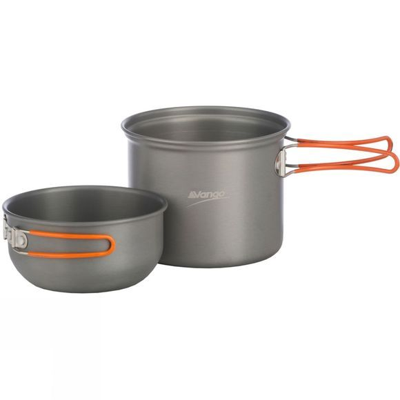 Hard Anodised Cook Set - 1 Person