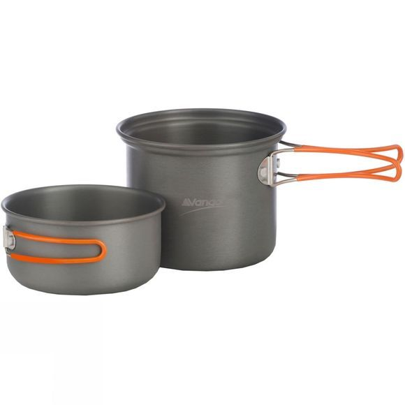 Hard Anodised Cook Set - 2 Person