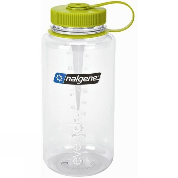 Nalgene Tritan Wide Mouth Bottle 1L Clear Clear