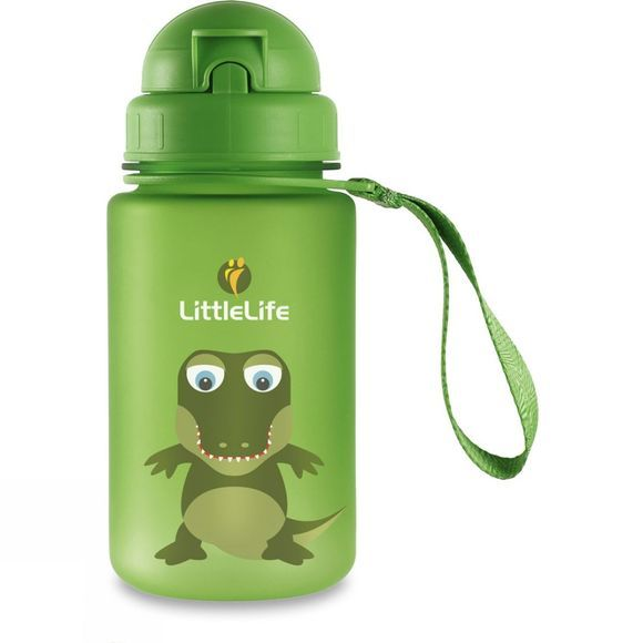 LittleLife Kids Crocodile Bottle Green