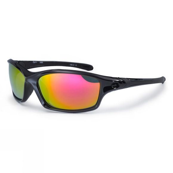 Bloc Daytona Sunglasses Shiny Black/Red