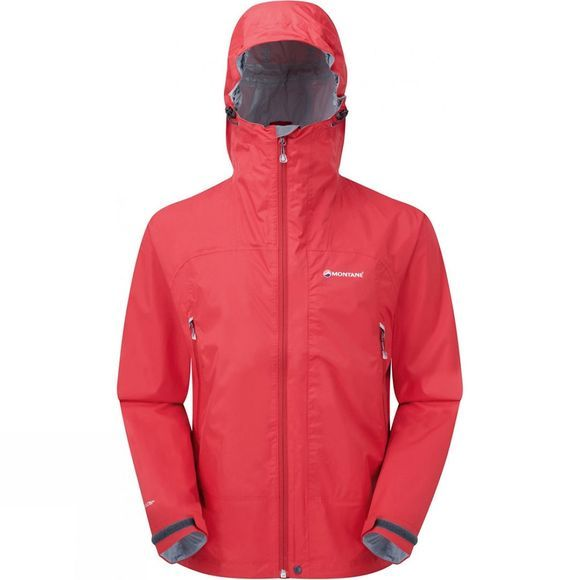 Montane Mens Atomic Jacket Alpine Red