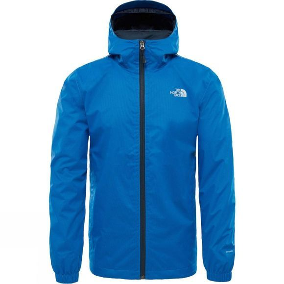 The North Face Mens Quest Jacket Turkish Sea Black Heather