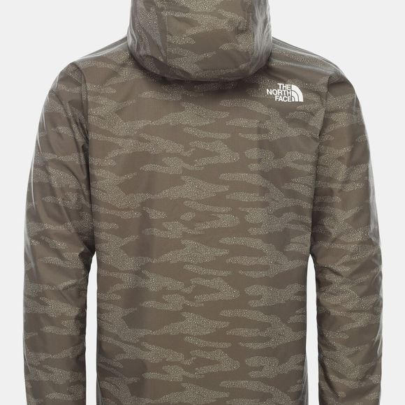 The North Face Mens Quest Jacket New Taupe Green Dewdrop 2 Print