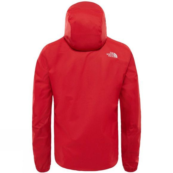 The North Face Mens Quest Jacket Rage Red Black Heather