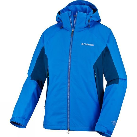Columbia Men's On The Mount Stretch Jacket Hyper Blue / Marine Blue