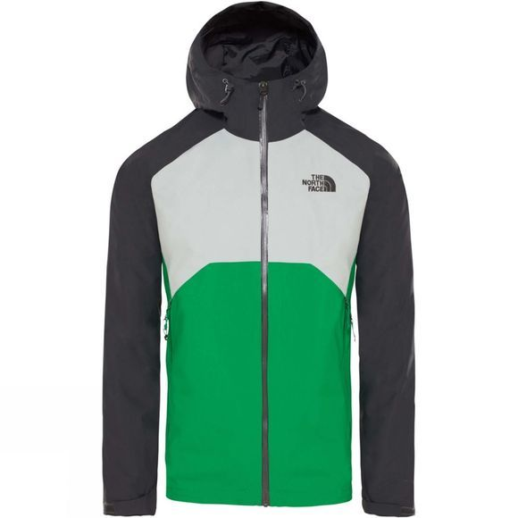 The North Face Mens Stratos Jacket Asphalt Grey/High Rise Grey