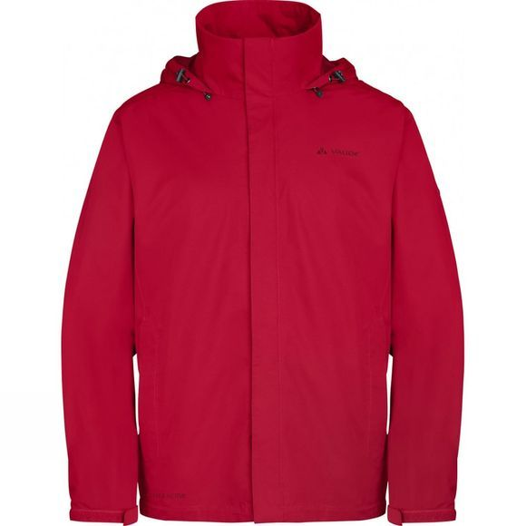 Vaude Mens Escape Light Jacket Indian Red