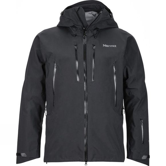 Marmot Mens Alpinist Jacket Black