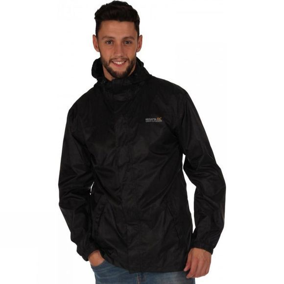 Regatta Mens Pack-It Jacket II Black