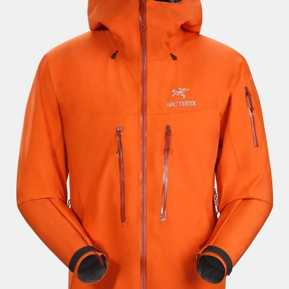 Arc'teryx Mens Alpha SV Jacket Trail Blaze