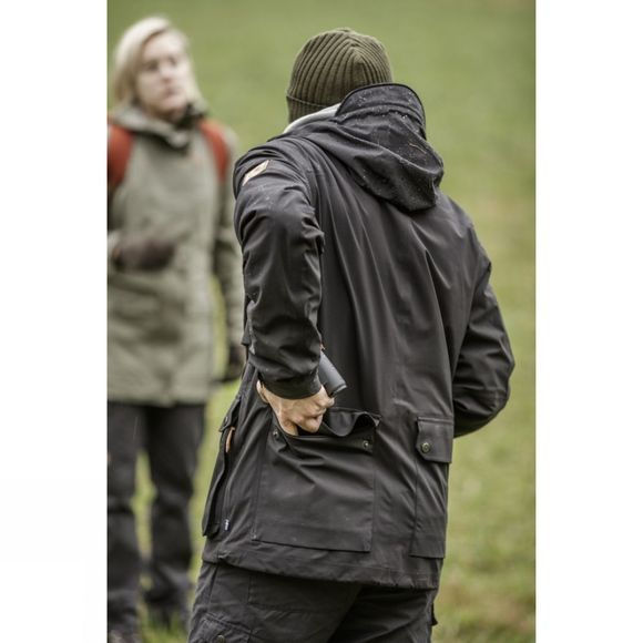 Fjallraven Mens Övik Eco-Shell Jacket Black