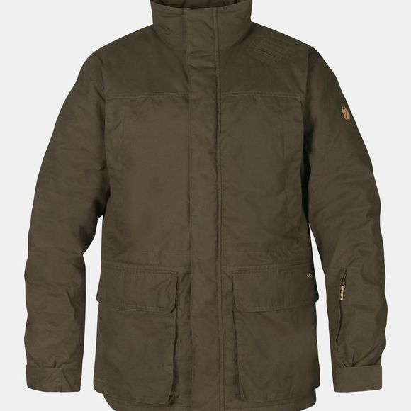 Fjallraven Mens Brenner Pro Padded Jacket Dark Olive