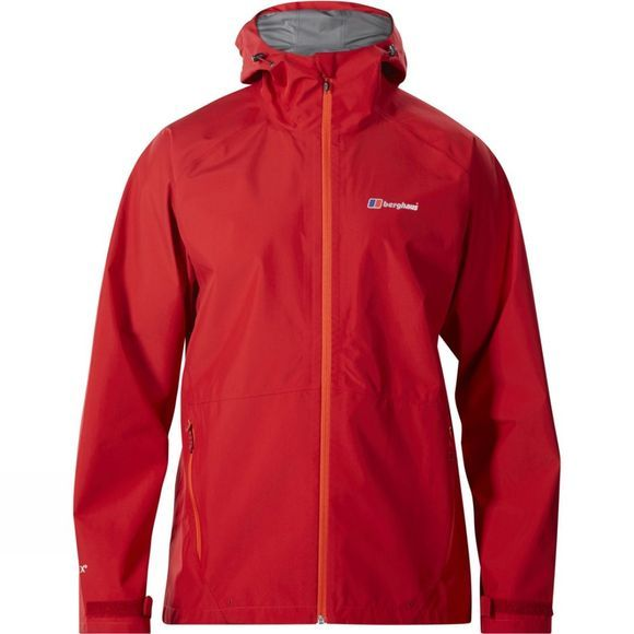 Berghaus Mens Paclite 2.0 Jacket Chilli Pepper