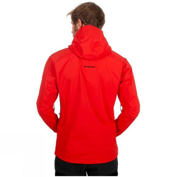 Mammut Mens Kento HS Hooded Jacket Spicy