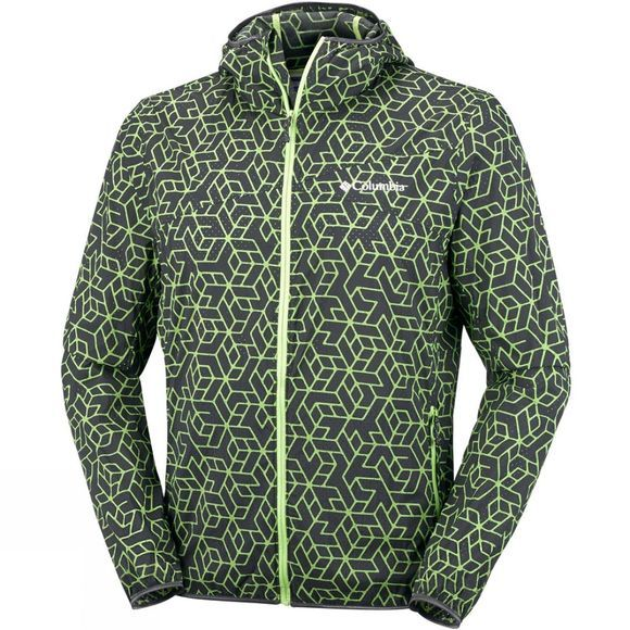 Columbia Mens Addison Park Windbreaker Jacket Shark Print