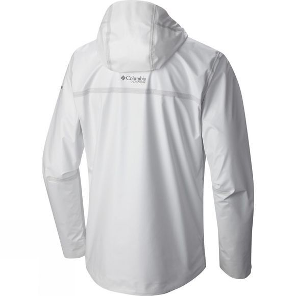 Columbia Mens OutDry Ex Eco Shell Jacket White