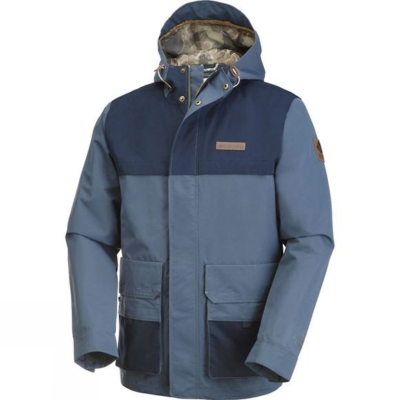 Columbia Mens South Canyon Jacket Zinc / Collegiate Navy