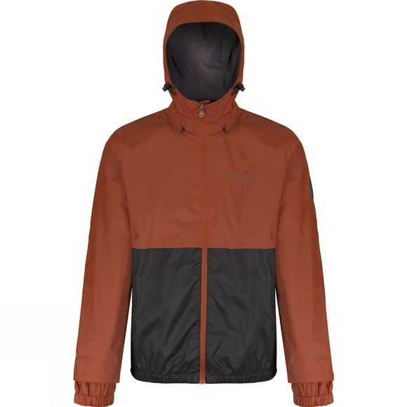 Regatta Mens Akka Jacket Burnt Orange / Iron