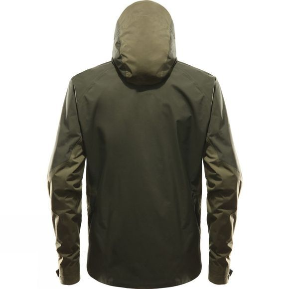 Haglofs Mens Virgo Jacket Sage Green/Deep Wood