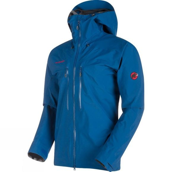 Mammut Mens Meron HS Hooded Jacket Ultramarine
