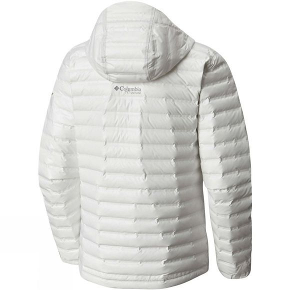 Columbia Mens Outdry Ex Eco Down Jacket White Undyed