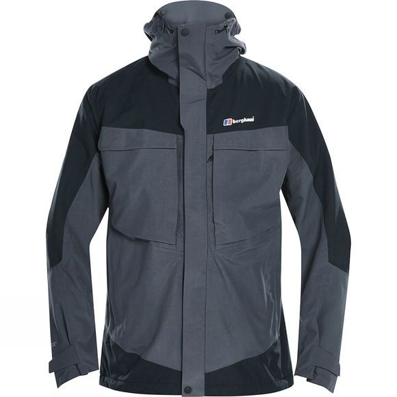 Berghaus Mens Mera Peak 5.0 Jacket Carbon/Jet Black