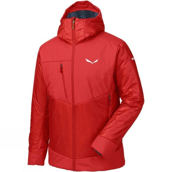 Salewa Mens Ortles 3 Primaloft Jacket Bergrot
