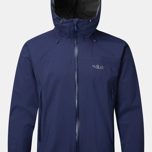 Rab Mens Downpour Plus Jacket Blueprint
