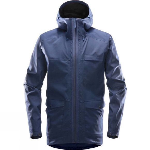Haglofs Mens Eco Proof Jacket Tarn Blue