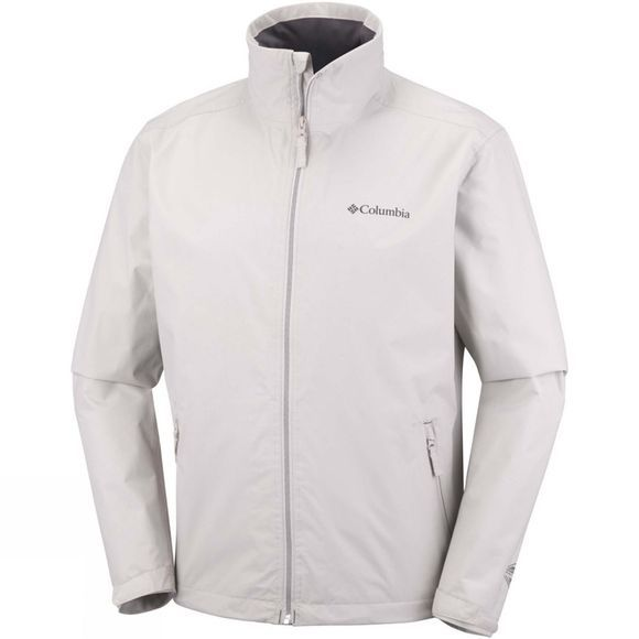Columbia Mens Bradley Peak Jacket Light Cloud