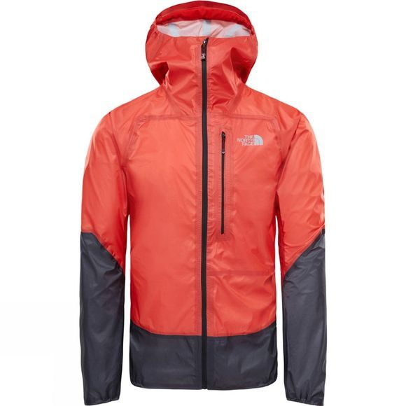 The North Face Summit L5 Ultralight Storm Jacket Fiery Red/TNF Black