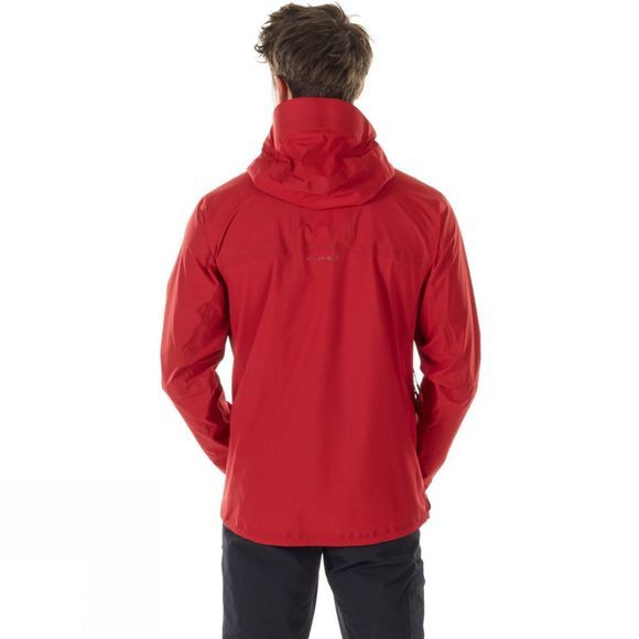 Mammut Mens Masao Light HS Hooded Jacket Magma