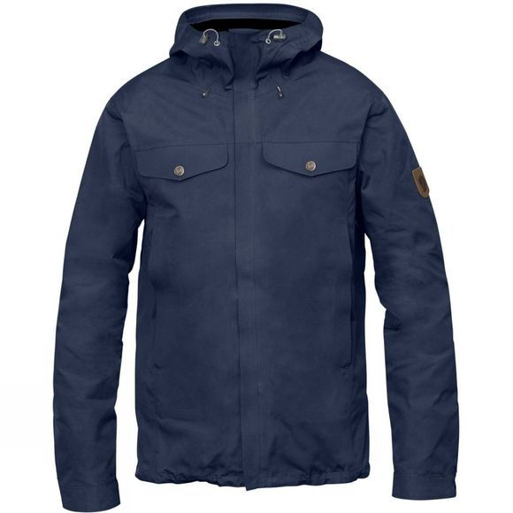 Fjallraven Mens Greenland Half Century Jacket Dark Navy