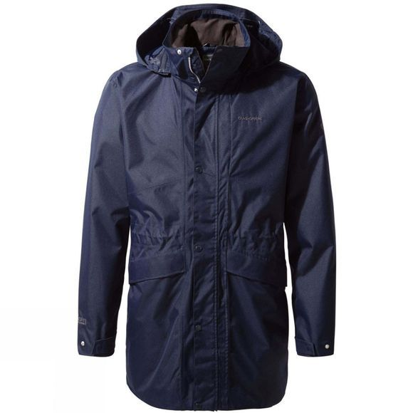 Craghoppers Mens Brae Jacket Blue Navy