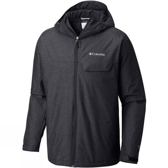 Columbia Mens Huntsville Peak Novelty Jacket Black