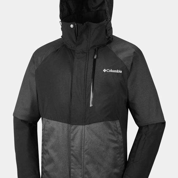 Columbia Mens Wildside Jacket Black/ Charcoal Heather